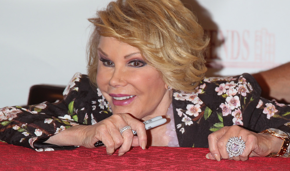 "Joan Rivers Signs Copies Of ""Diary Of A Mad Diva"""
