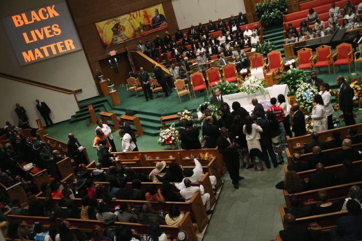Freddie Gray's Funeral Service
