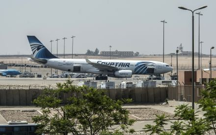 EGYPT-FRANCE-ACCIDENT-AIRLINE