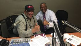Rushern Baker III with Larry Young