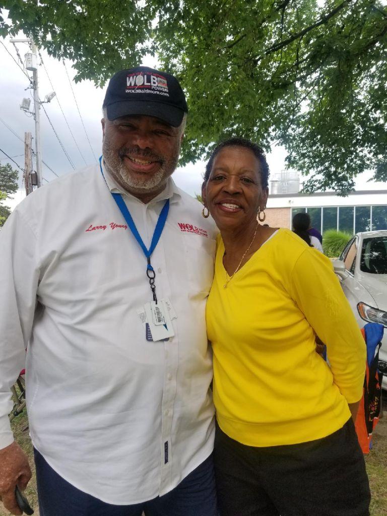 Larry Young Visits Early Voting Election Sites