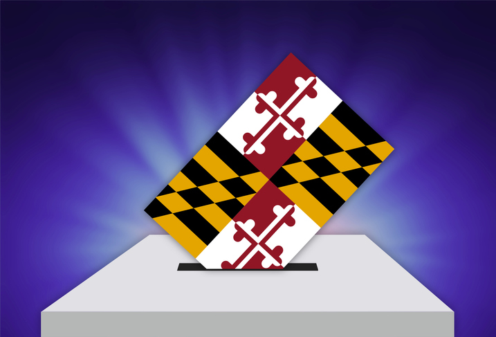 Election Day in the United States of America - MARYLAND