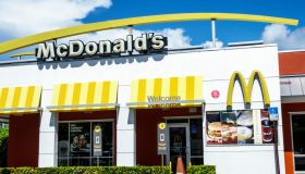 Florida, Miami, McDonalds exterior