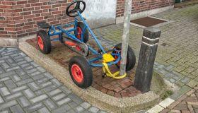 children's go-kart bike