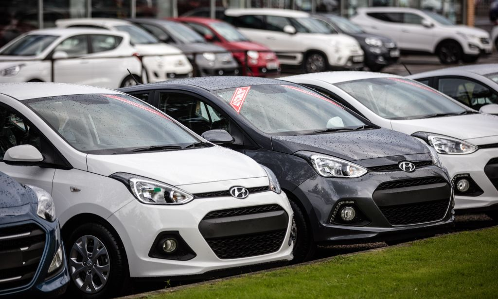 UK Car Sales Up 8.6 Per Cent Year on Year