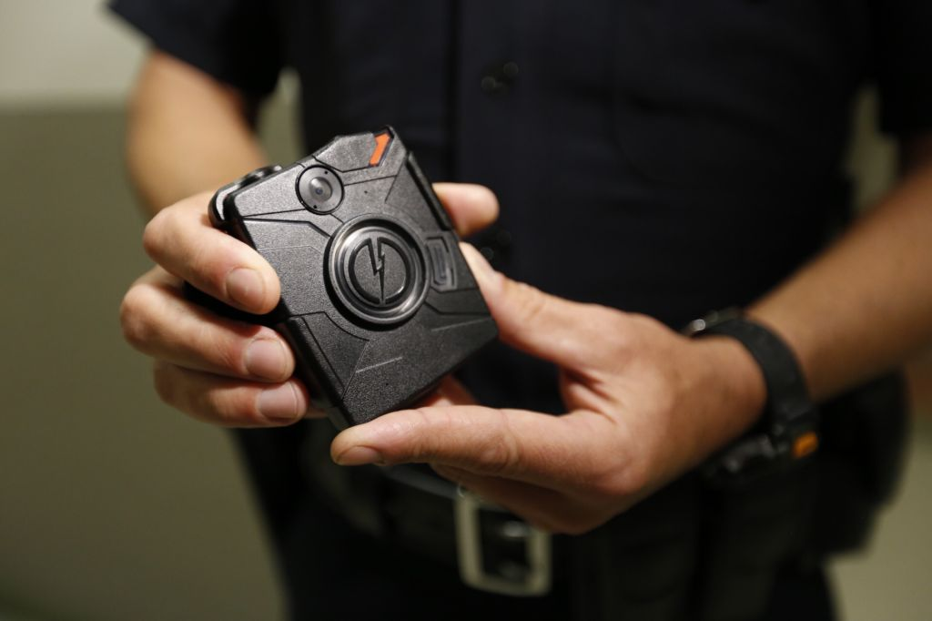 LAPD to Use Body Cameras Starting Today