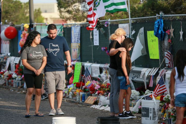 El Paso Mourns Victims Of Mass Shooting That Killed 22 And Wounded Dozens (2019)