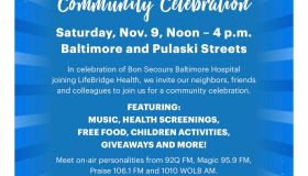 Bon Secours & LifeBridge Health Community Celebration