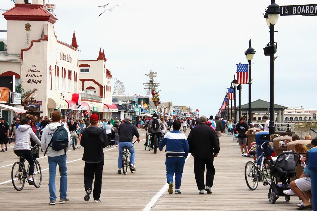 Ocean City Boardwalk Reopens For Memorial Day Weekend