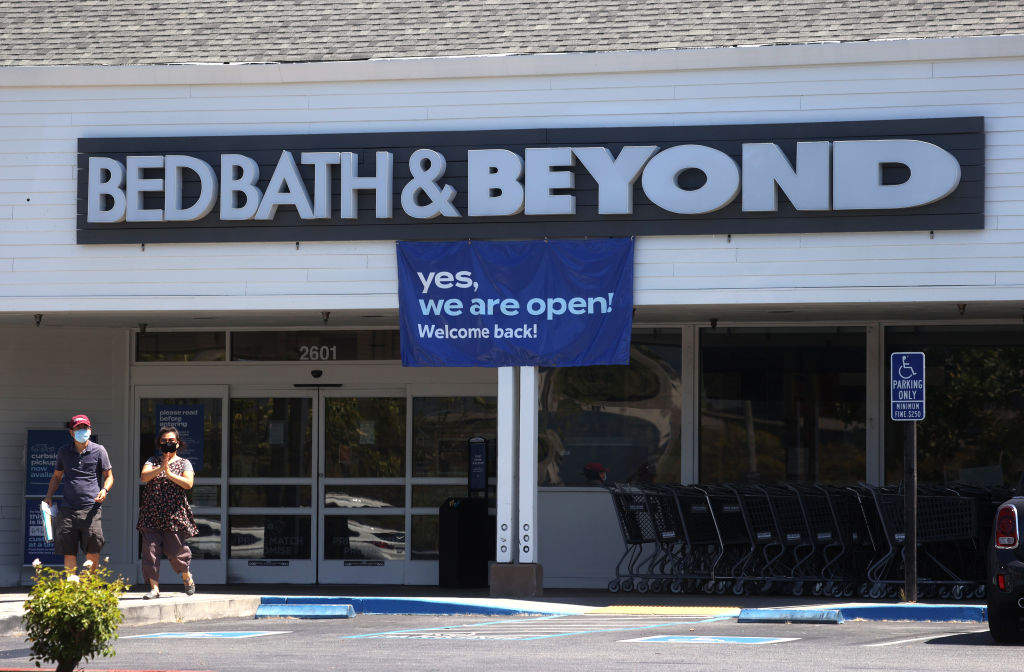 Bed Bath & Beyond To Close 200 Stores As COVID-19 Continues To Impact Economy