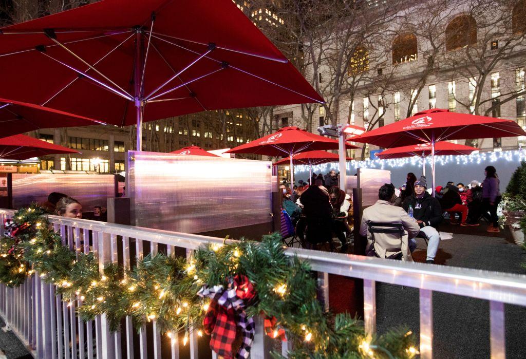 U.S.-NEW YORK-COVID-19-CHRISTMAS SEASON