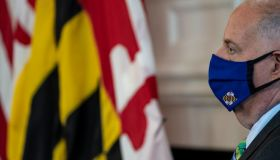 Hogan holds press briefing about vaccine distribution in Maryland