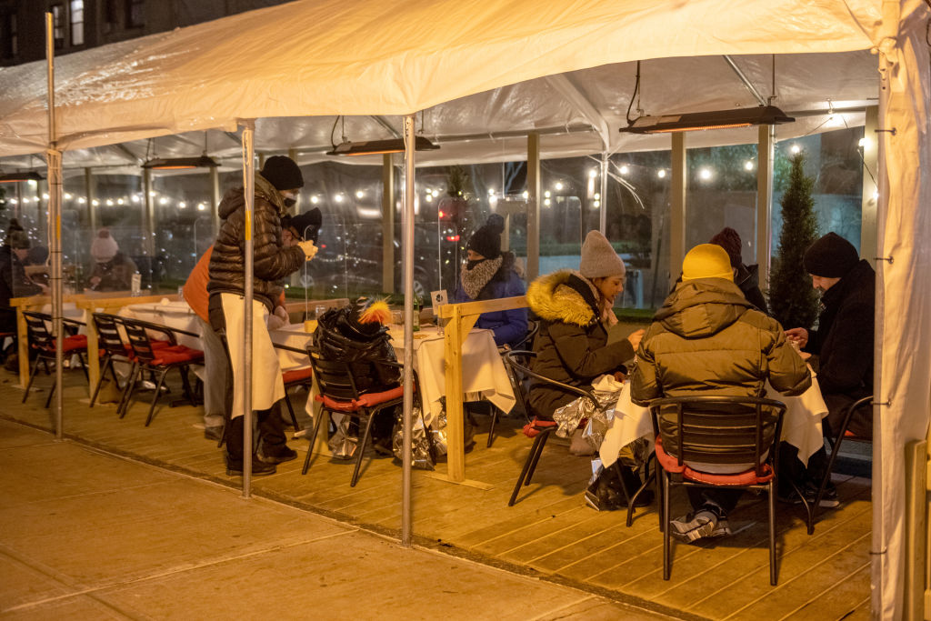 Outdoor Service Continues Through Winter In New York City Due To Pandemic Restrictions
