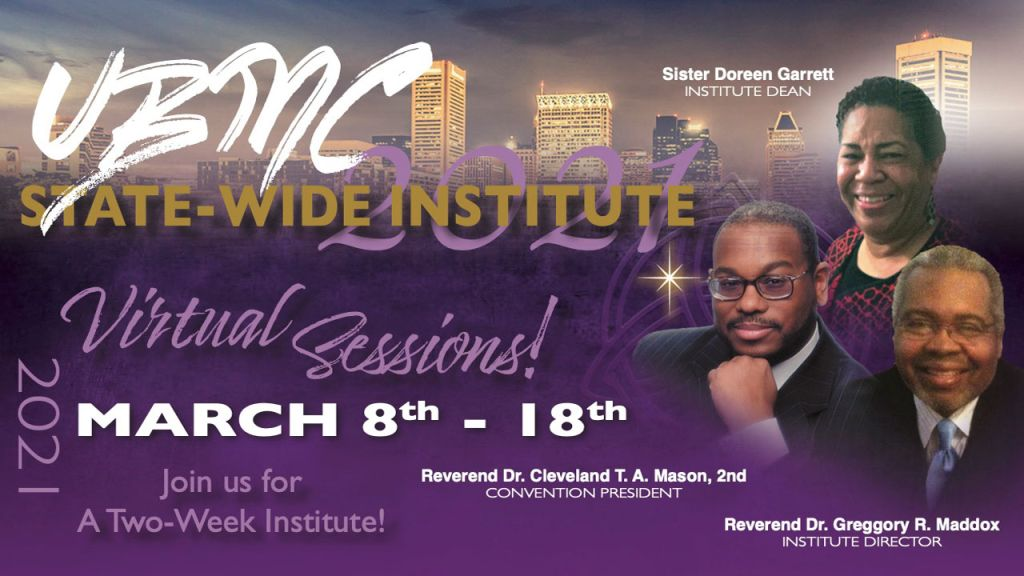 UBMC State-Wide Institute Virtual Sessions