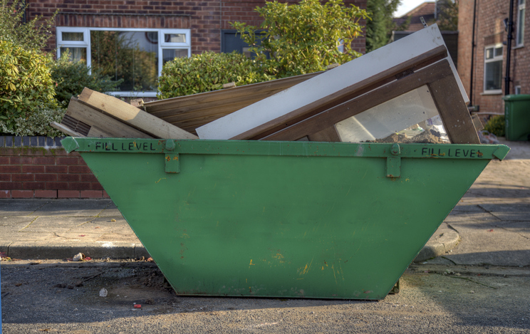 Dumpster or Skip-Click for related images