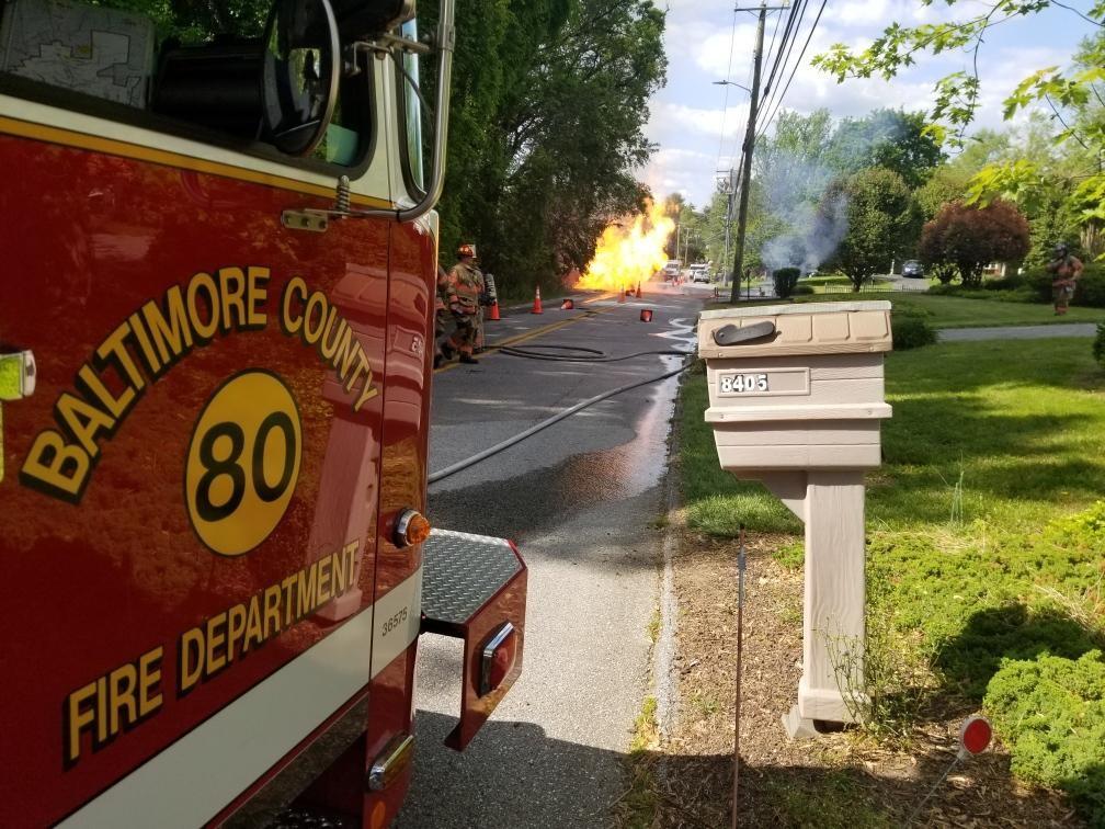Pikesville Fire