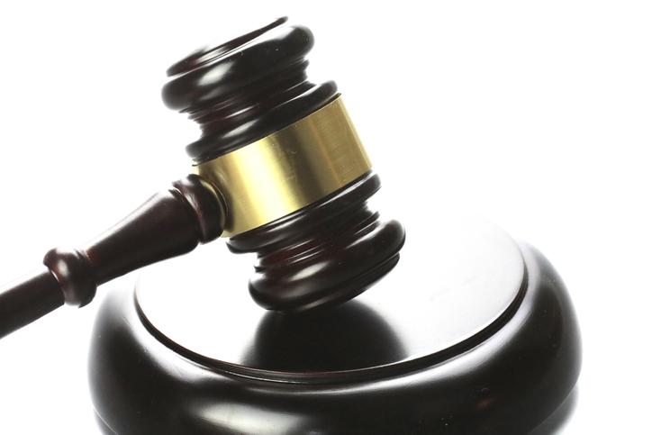Wood Gavel mallet for court