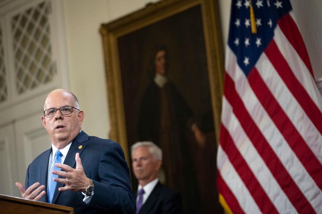 Maryland Gov. Hogan Provides Covid-19 Updates