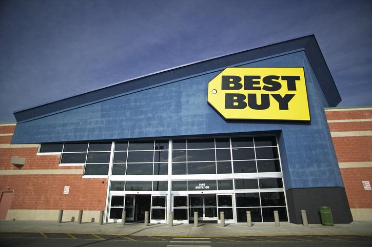 Best Buy Store Entrance