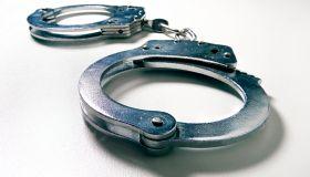 handcuffs wide angle